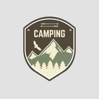 t-shirts camping