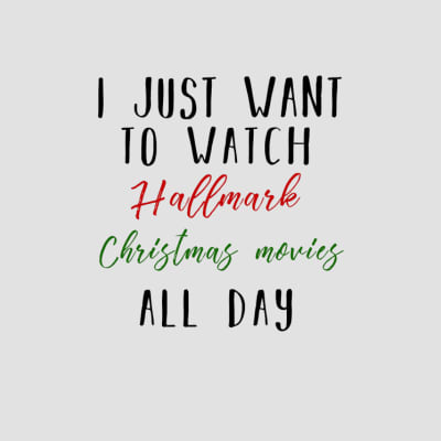 hallmark christmas movies t-shirts