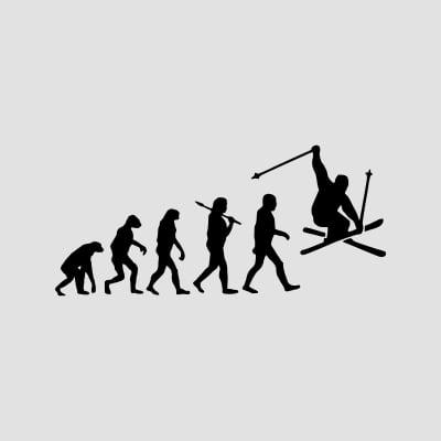 t-shirts ski