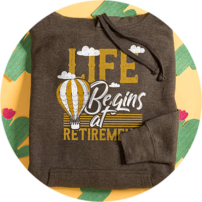 Retirement Hoodies & Sweatshirts