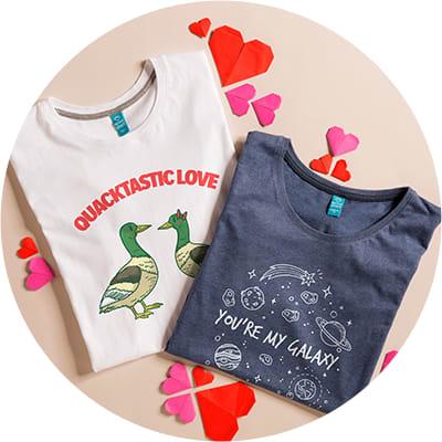 Pärchen T-Shirts
