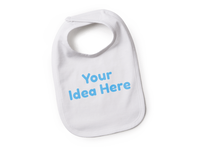 Custom baby bibs personalized bibs spreadshirt create custom bibs for the perfect gift negle