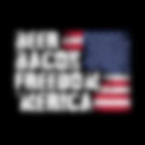 Beer Bacon Freedom Merica Flag