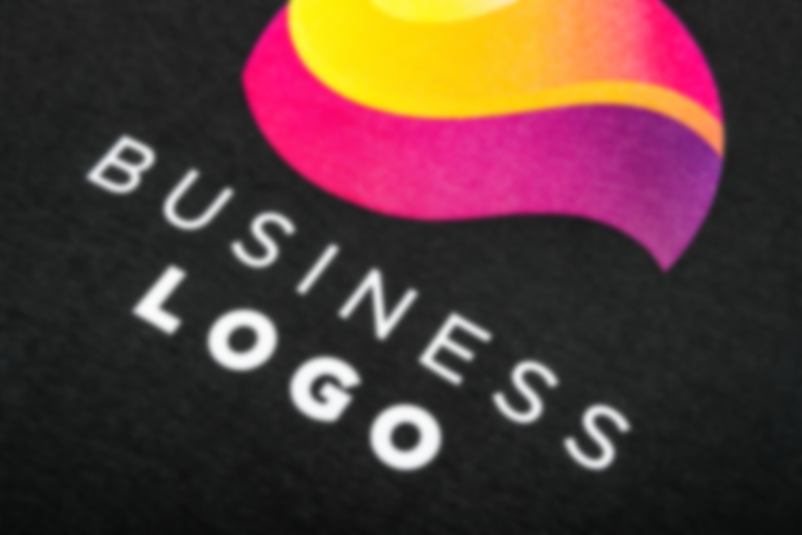 company logo printed with digital direct printing technology