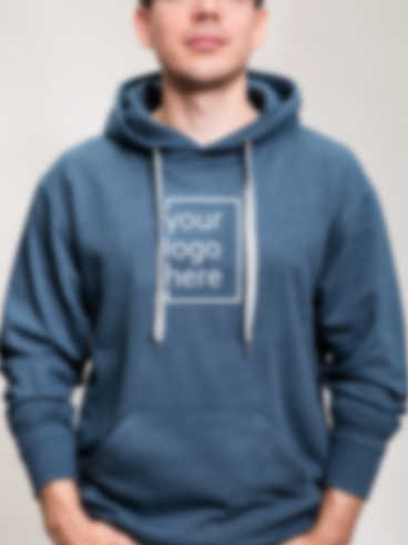 Customized hoodie with an embroidered design