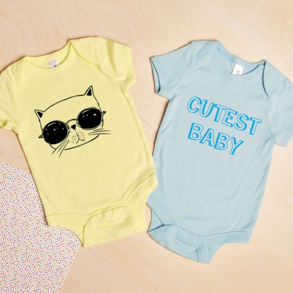 Custom Baby Body Suits