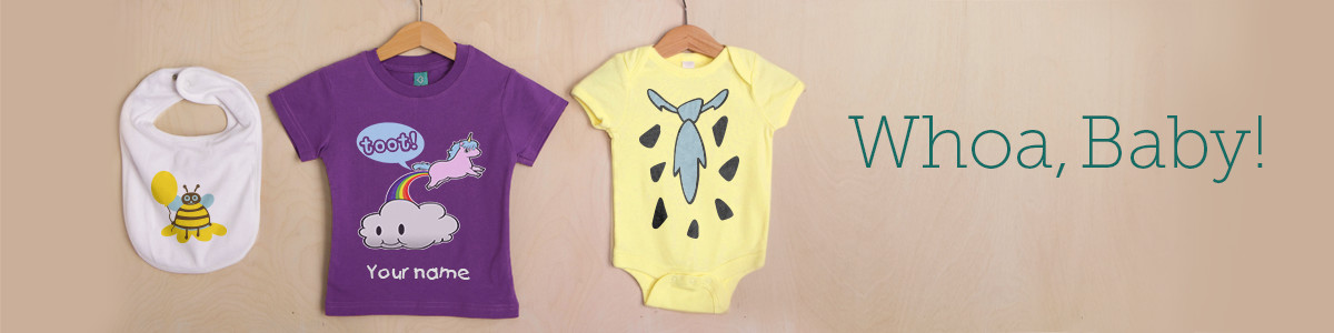 custom baby clothes and onesies