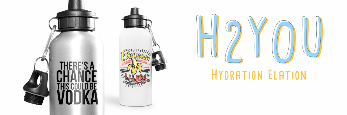 Create Personalized Water Bottles with Spreadshirt
