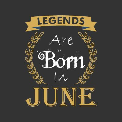 Born in June T-Shirts