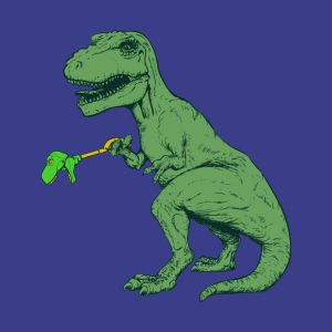 unstoppable t rex t shirts