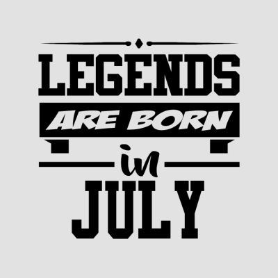 Born in July T-Shirts