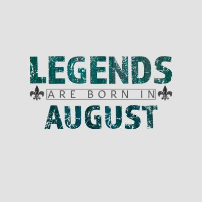 Born in August T-Shirts