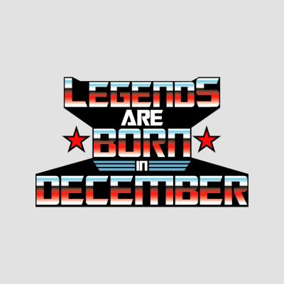 Born in December T-Shirts