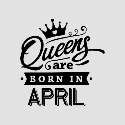 Born in April T-Shirts