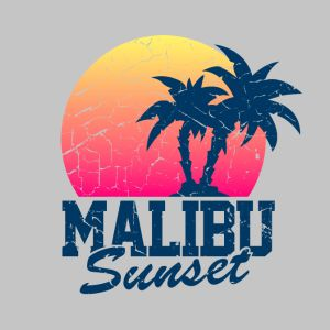 vintage malibu sunset used