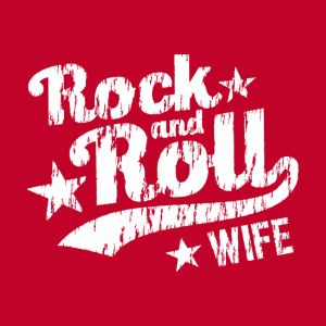 rock and roll wife mugs drinkware