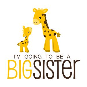 i am going to be a big sister kids shirts