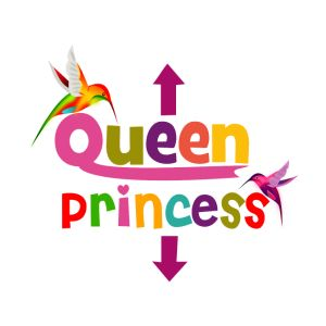 queen and princess maternity women s t shirts