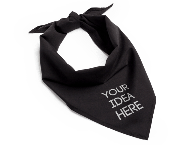 c6a8c1be6b9ff3 Add some flair to your outfit with personalized bandanas.