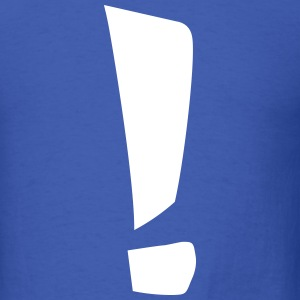 Exclamation point T-Shirts - Men's T-Shirt