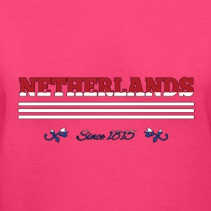 vintage flag NETHERLANDS since 1815 - Women's V-Neck T-Shirt