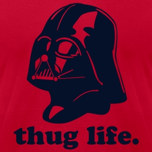 Thug Life Darth Vader - Men's T-Shirt by American Apparel
