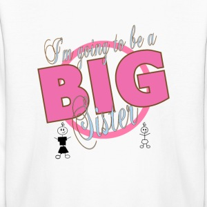 I'm going to be a Big Sister  Kids' Shirts - Kids' Long Sleeve T-Shirt
