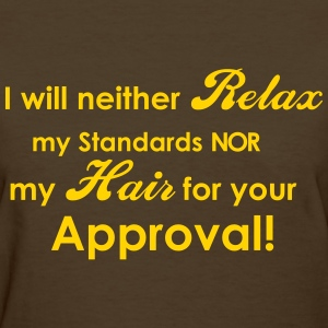 Natural Relaxed Hair - Women's T-Shirt