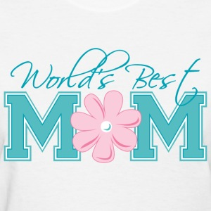 Best Mom Turq - Women's T-Shirt