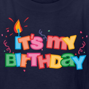 It's My Birthday Letters Kids' Shirts - Kids' T-Shirt