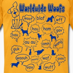 worldwide_woofs T-Shirts