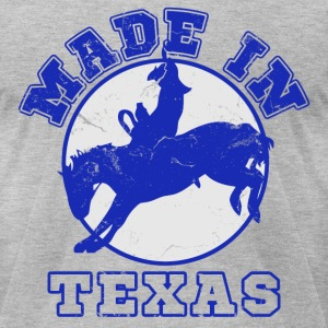 made_in_texas_rodeo T-Shirts - Men's T-Shirt by American Apparel