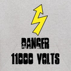 Warning Electricity Sweatshirts