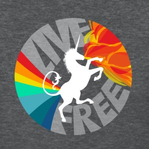 Pooping Rainbows, Breathing Fire - Women's T-Shirt