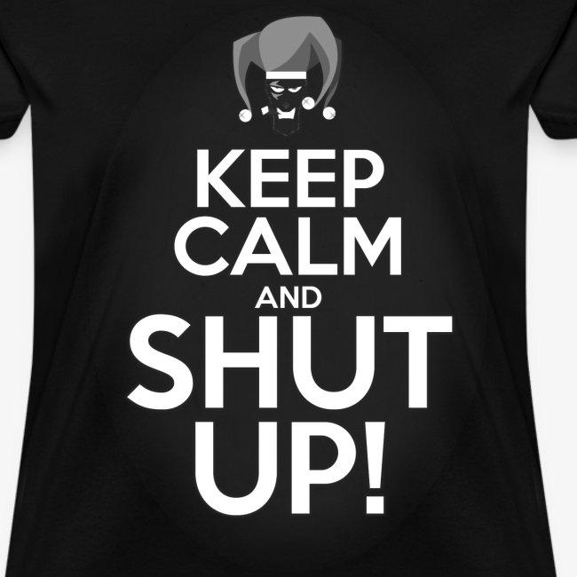 """WHP """"Keep Calm"""" Women's T-Shirt"""