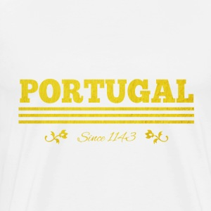 vintage Golden Portugal since 1143 - Men's Premium T-Shirt