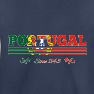 vintage flag Portugal since 1143 - Kids' Premium T-Shirt