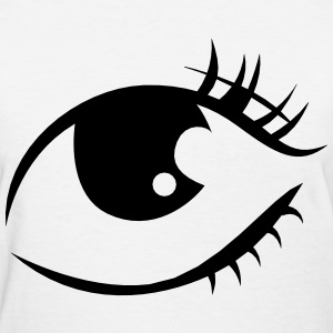 an eye - Women's T-Shirt