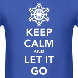 Keep Calm & Let It Go - Men's T-Shirt