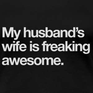 Husband's Wife - Women's Premium T-Shirt
