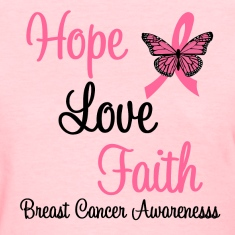 Breast Cancer Hope Love Faith