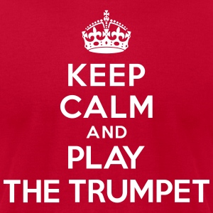 Keep calm and play the Trumpet T-Shirts - Men's T-Shirt by American Apparel
