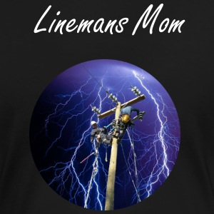 Lineman's Mom - Women's Premium T-Shirt