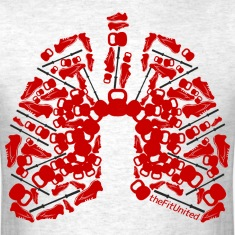 WOD Lungs Red