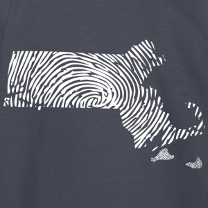 Massachusetts Fingerprint State Apparel  Kids' Shirts - Kids' Long Sleeve T-Shirt