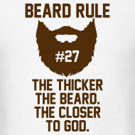Design ~ Beard Rule #27