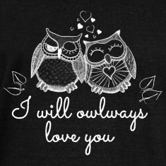i will owlways love you owls Long Sleeve Shirts