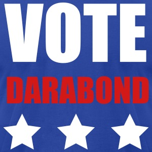Most Popular Girls Vote Darabond T-Shirts - Men's T-Shirt by American Apparel