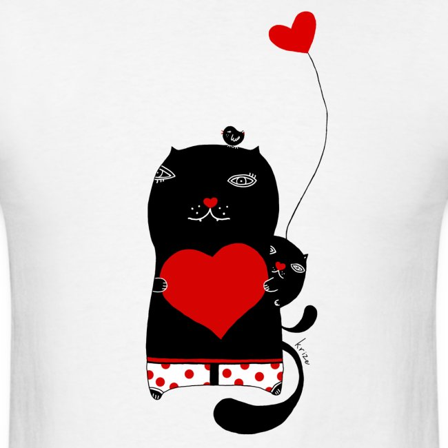 Cats with Hearts Classic Tee