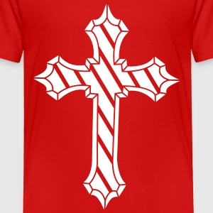 Metal cross Baby & Toddler Shirts - Toddler Premium T-Shirt